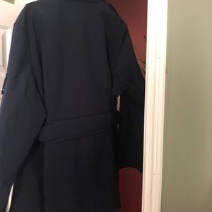 Michael Kors Navy belted Jacket.